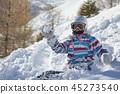 skier, female, snow 45273540