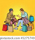 Older women girlfriends shopping 45275749
