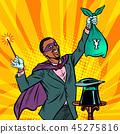 African Magician with yen money 45275816