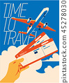 Time to Travel and Summer Holiday poster. 45278030