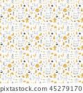 christmas, seamless, pattern 45279170