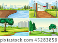 park landscape green 45283859