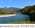 Scenery along the Agano River 45284192