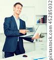 man, laptop, business 45285032