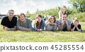 lawn, photo, family 45285554