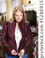 女人 女性 衣物 45286915