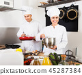 cook, chef, two 45287384