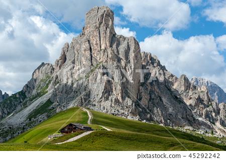 Mountain Scene in the Italian Dolomites 45292242