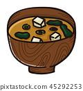 日本食品 日本料理 日式料理 45292253