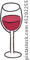 酒 葡萄酒 紅酒 45292255