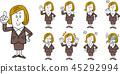 female, females, lady 45292994