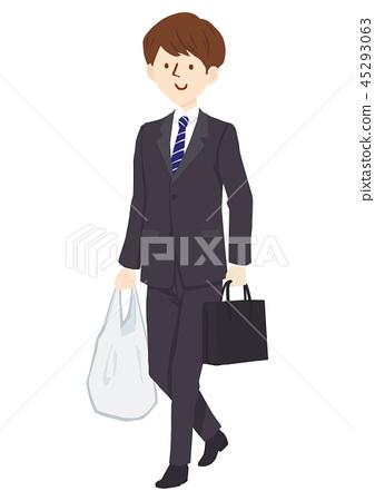 適合男士購物袋 45293063