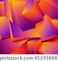 几何学 方块 立方体 45293666