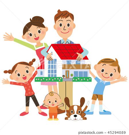 有房子的家庭 45294089