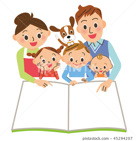 一家人讀一本書 45294207