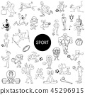 sport people basketball 45296915