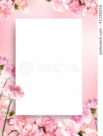 美好的春天背景,春天背景,春天花框架 45298056