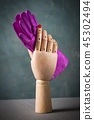 mannequin hands with gloves 45302494