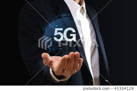 5G 테크놀로지, 5세대 이동통신, 차세대 기술 45304129