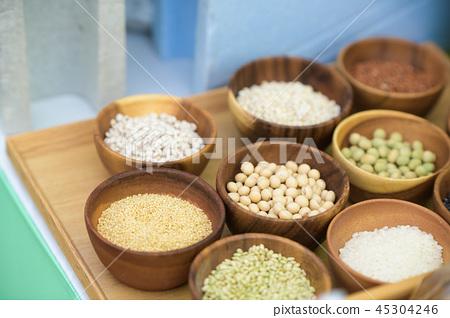 재료 소재 콩 콩 45304246