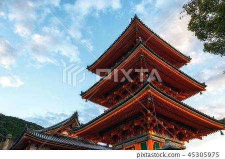kiyomizudera pagoda in kyoto 45305975