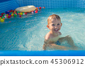 child, children, pool 45306912