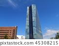 프랑크푸르트, ECB, 은행 45308215