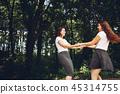 park, female, women 45314755