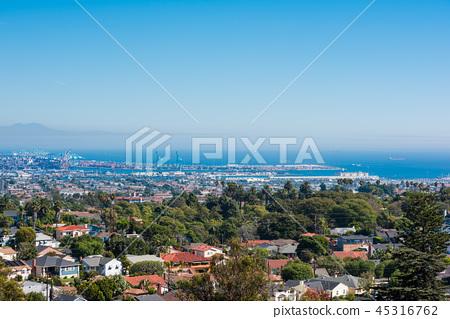 加利福尼亞長灘港口,加利福尼亞長灘港口全景 45316762