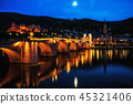 heidelberg city at night 45321406