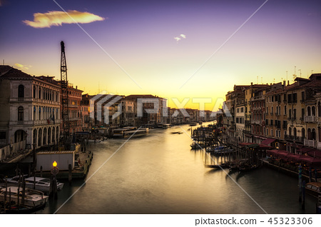 Sunset over Grand Canal 45323306