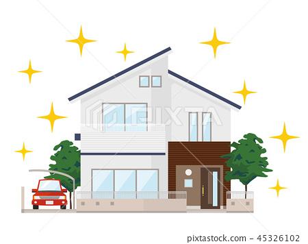 房屋 房子 住宅的 45326102