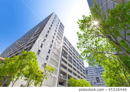 아파트의 도시 풍경 45326446