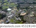 aerial, view, baseball 45328140