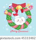 卡通 圣诞节 圣诞 45333462