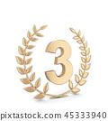Winner laurel symbol 45333940