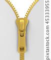 Metal zipper 45333955
