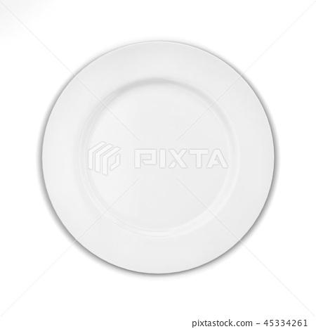 Empty plate 45334261