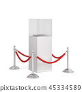 Stanchions and a podium 45334589