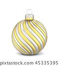 Christmas ball toy 45335395