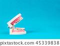 鏡子 牙齒 模型 45339838