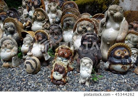 일본 교토 너구리 곡산 不動院 너구리 인형 Japan Kyoto Raccoon ornament 45344262
