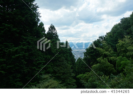 Japan Kyoto View from the top of the mountain Japan Kyoto View 45344265