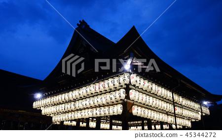 일본 교토 야 사카 신사 Japan Kyoto Yasaka Shrine at sunset 45344272