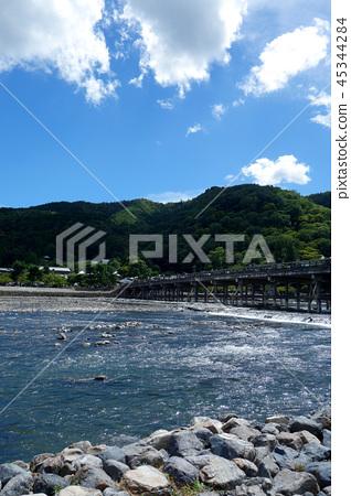 일본 교토 아라시야마 카츠라 케츠 교우 Japan Kyoto Arashiyama togetsu-kyo 45344284