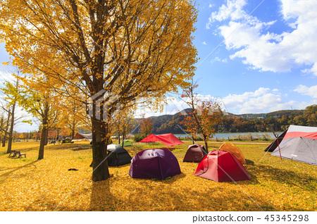 가을 캠핑 45345298