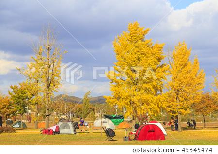 가을 캠핑 45345474