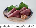 Boniton sashimi 45354576