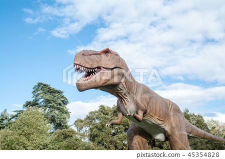 大型恐龍模型,大開口 45354828