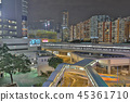 a kwun tong down town at night 45361710